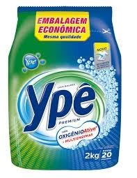 Detergente Pó Ypê Premium Sache 2kg