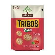Biscoito Snacks 7 Grãos Tomate e Manjericão Tribos Mãe Terra 50g